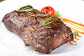 Baked Steak — Stock Photo
