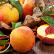 Sweet peach — Stock Photo