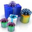 Gift Boxes — Stock Photo #11171849