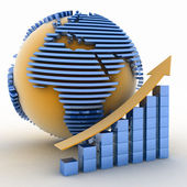 Global success concept — Stock Photo