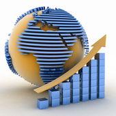 Global success concept — Stock Photo