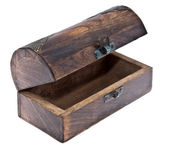 Empty treasure box — Stock Photo
