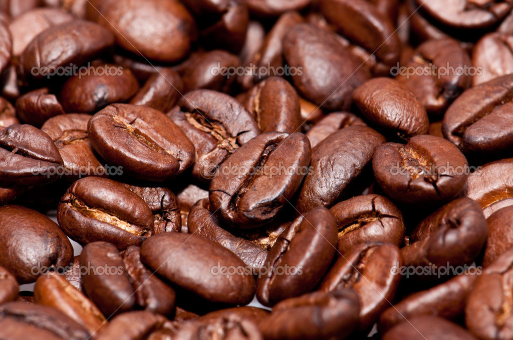 Coffee-Beans (macro view) for use as background picture — Stock Photo #10851383