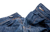 Jeans with open zipper — Stock Photo
