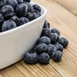 Bowl filled with Blueberries — Stock Photo #11967531
