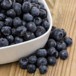 Bowl filled with Blueberries — Stock Photo #11967538