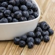 Bowl filled with Blueberries — Stock Photo #11967546