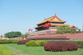 Beijing, China the tiananmen gate — Stock Photo