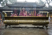 Temple incense burner — Stock Photo