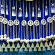 Stock Photo: Chinese folk handicrafts, silver ornaments