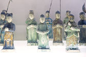 Chinese ancient characters statue — 图库照片