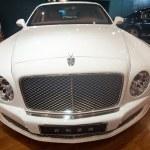 April 2012 Beijing Auto Show, Bentley limousine — Stock Photo