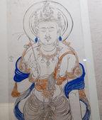 China's ancient Buddhist paintings — Stock Photo