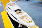Yacht model — Stock Photo