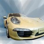 2012 Beijing international auto show Porsche sports car — Stock Photo