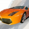 2012 Beijing international auto show LAMBORGHINI  sports car — Stock Photo