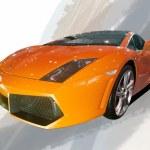 2012 Beijing international auto show LAMBORGHINI sports car — Stock Photo