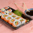 Royalty-Free Stock Photo: Sushi plate