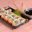 Sushi plate — Stock Photo #11137851