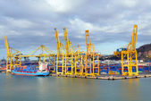Barcelona port — Stock Photo