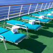 Ship deck — Stock Photo