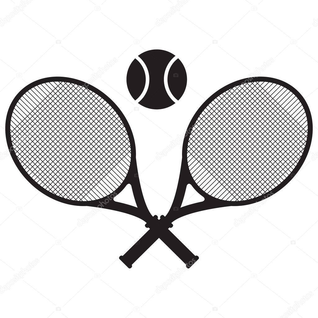 Vector tennis icon illustration  Stock Vector #11390821