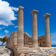 Temple of Athena - Stockfoto