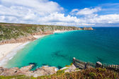 Porthcurno Cornwall England — Stock Photo
