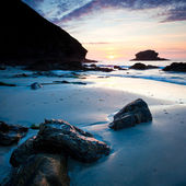 Portreath Sunset — Stock Photo
