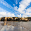 Cliffs at Perranporth — Stockfoto