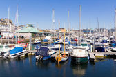 Harbour at the Barbican Plymouth — Stock Photo