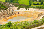 Tailings Dam — Stock Photo