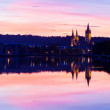 Truro From Malpas — Foto Stock