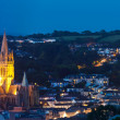 Truro at night — Stock Photo