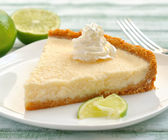 Lime tart — Stock Photo