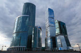 "Business district skyscrapers of ""Moscow City"" — Stock Photo"