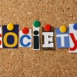 Stock Photo: Word Society