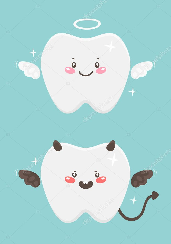 Angel and devil — Stock Vector #11217149