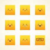 Happy smiley — Vector de stock