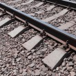 Fragment of the railroad — Stock Photo