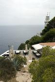 Terrace on the costa blanca — Stock Photo