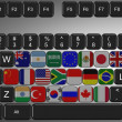 G20 keyboard — Stock Photo #10742591