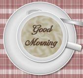 グッド モーニング コーヒー — ストック写真