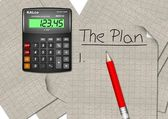 Planung vor — Stockfoto
