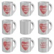 I love mugs set — Stock Photo