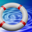 Lifesaving ring — Stock Photo