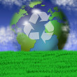 Recycling earth — Stock Photo