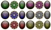 Precious stones set — Foto Stock