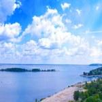 Panoramic view of the lagoon — Stock Photo #11795670