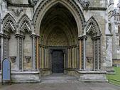 Entrance church — Stockfoto